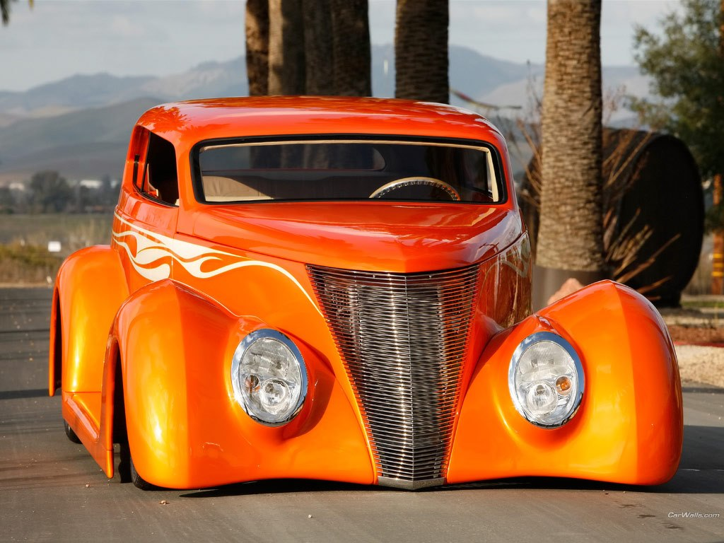 1937 Ford Sedan Dreamsicle OZE 37