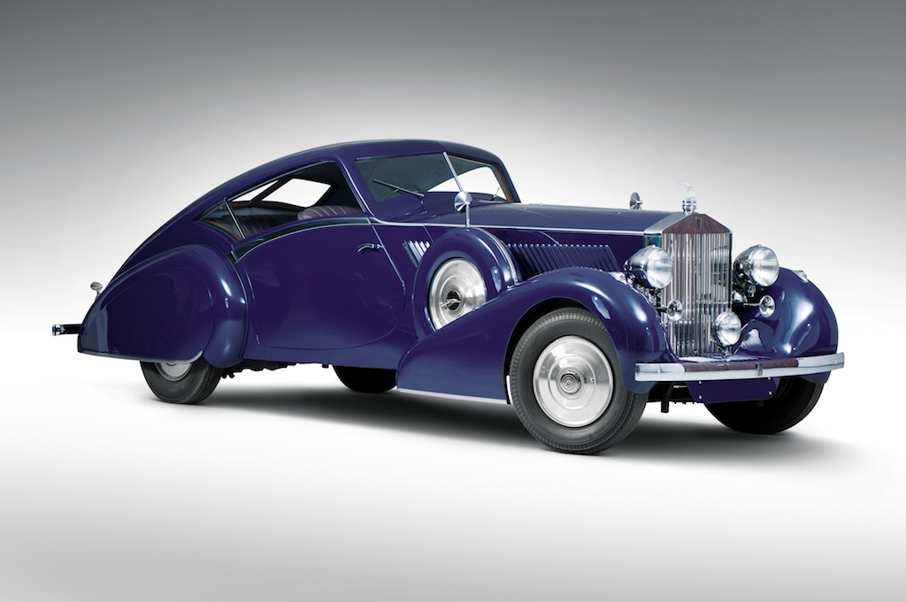 1937 Rolls Royce Phantom III Aero Coupe.