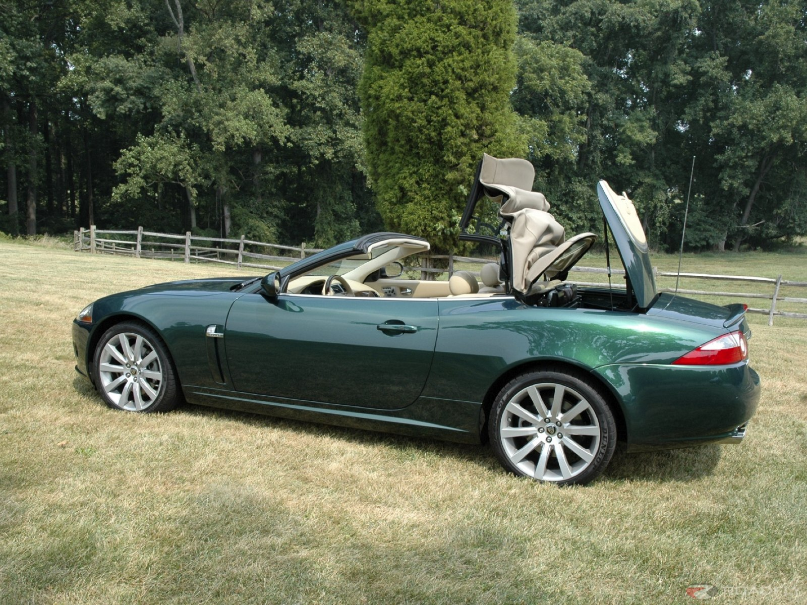 jaguar xk convertible'