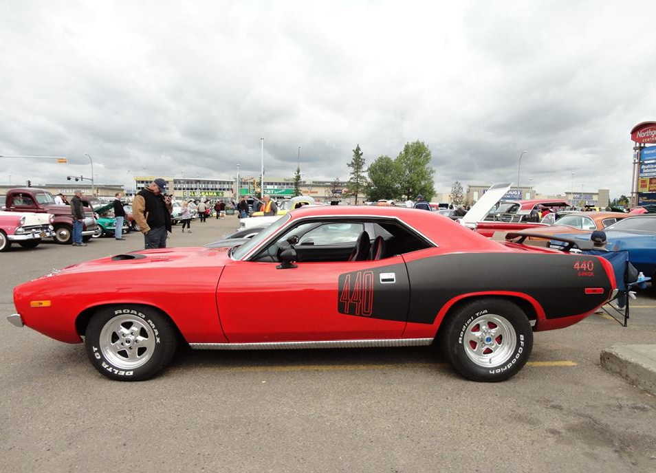 Plymouth Cuda 1974 Six Pack 440