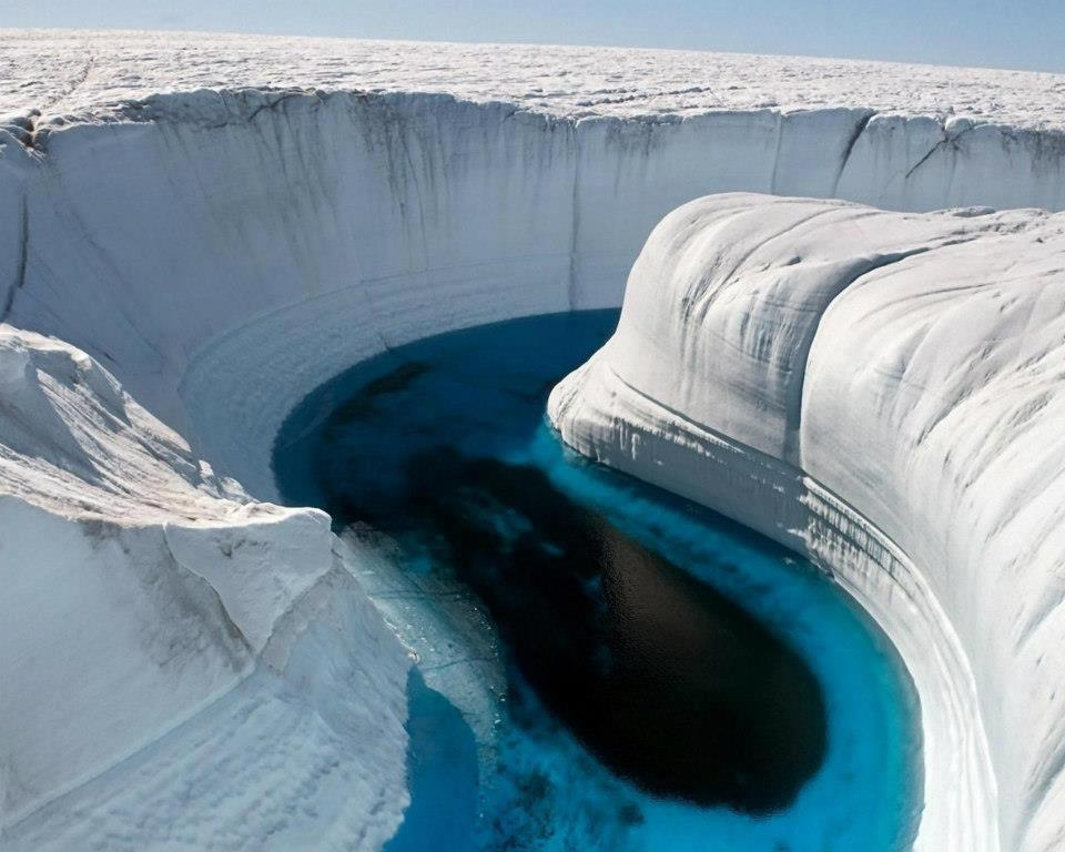 Ice Canyon-Greenland